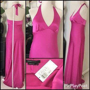 BCBG max azria Long Halter Dress, SZ.6, NWT